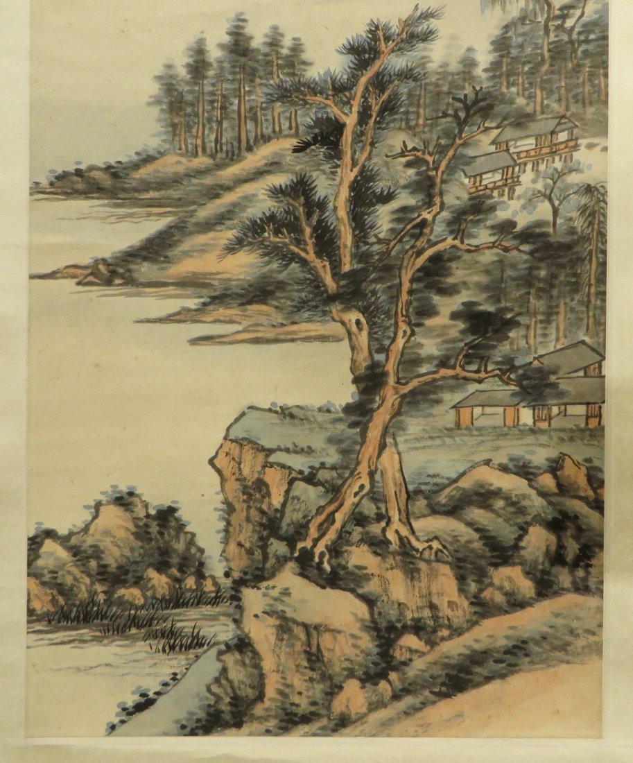 Landscape Scroll Attr. Chaoran Feng - 7