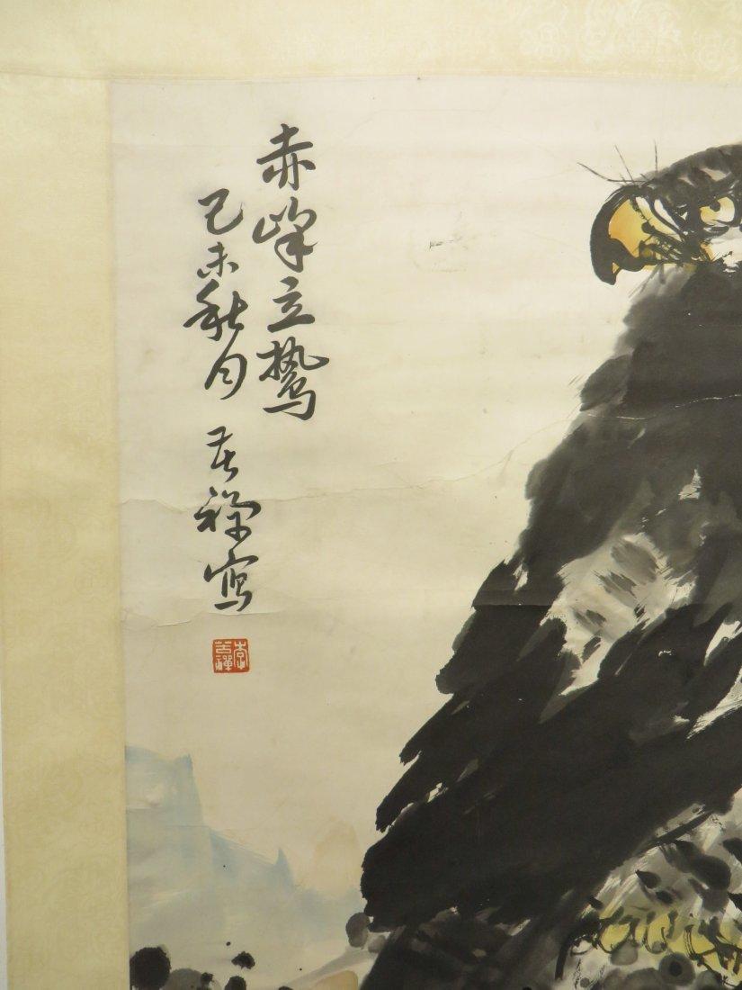 Scroll Of Eagle Attr. Kuchan Li - 7