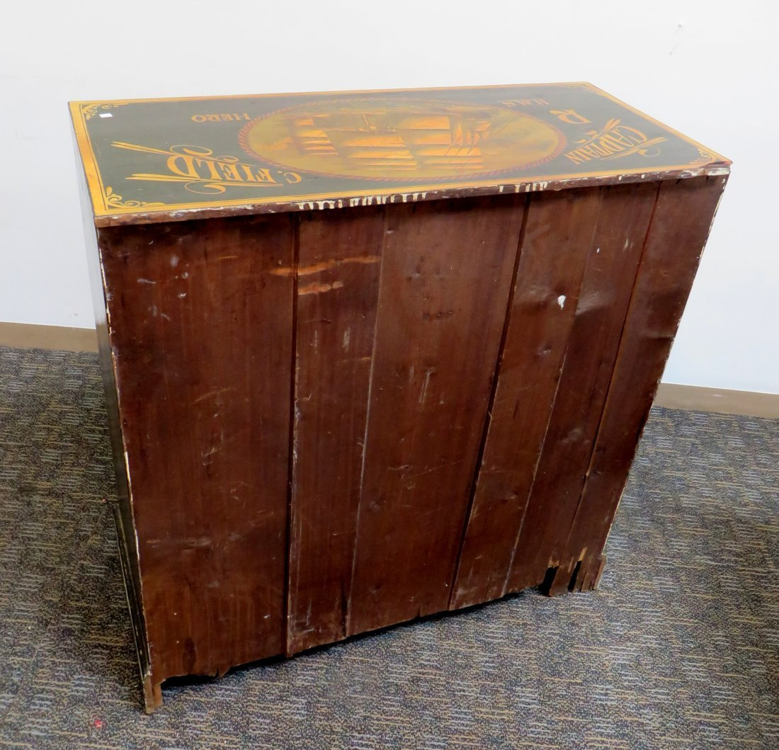 """Ship's Captain"" Chest Of Drawers - 10"