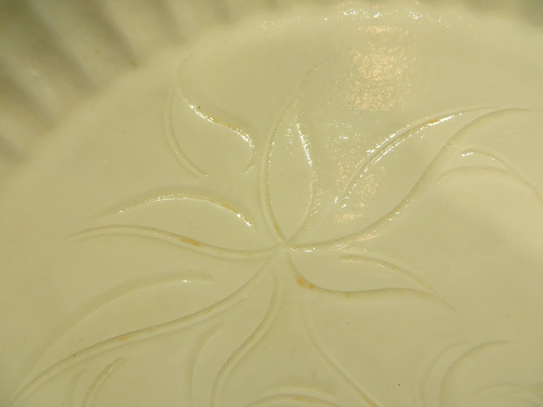 CHINESE DING WARE PLATE - 4
