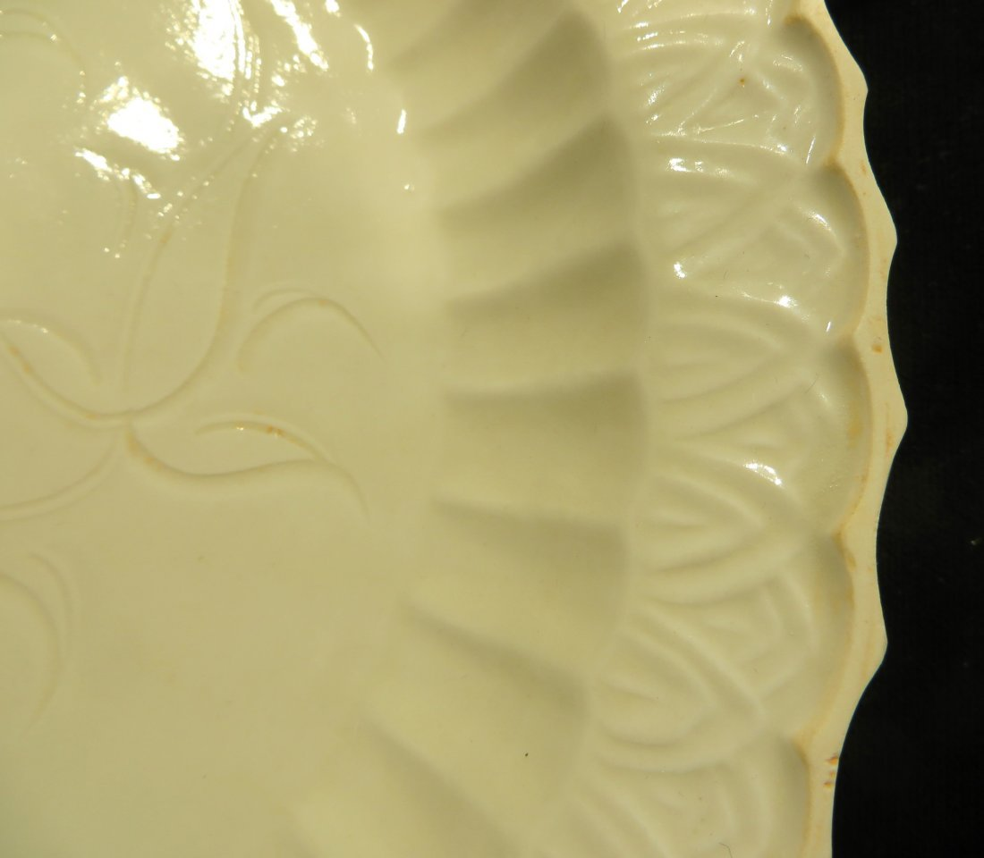 CHINESE DING WARE PLATE - 6