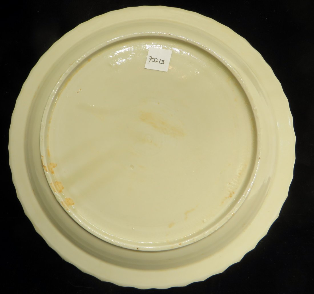 CHINESE DING WARE PLATE - 7