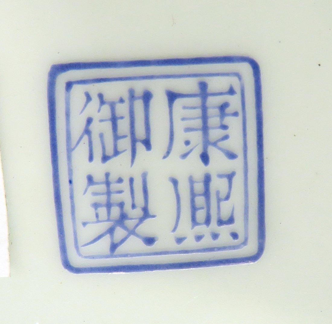 PAIR OF CHINESE KANG XI ENAMEL BOWLS - 6