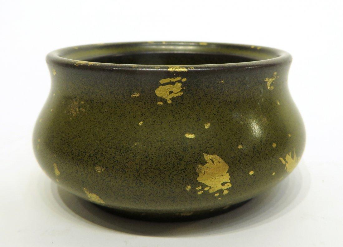CHINESE QIAN LONG TEA DUST CENSER - 2