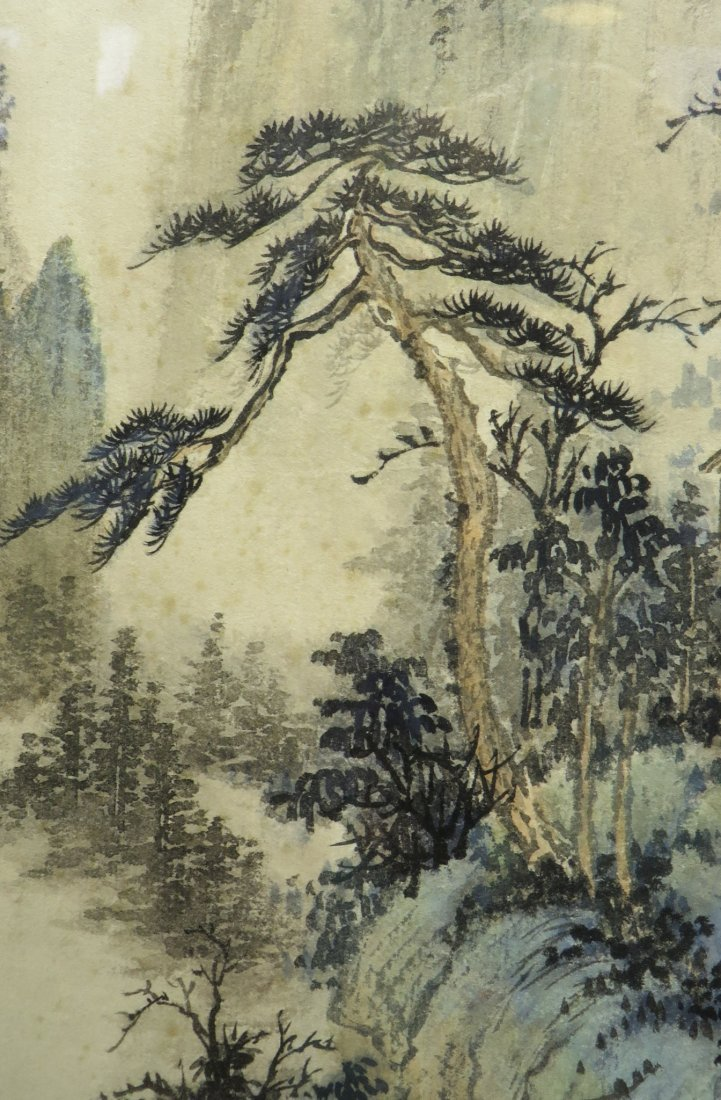 CHINESE WATER COLOR IN FRAME - 5