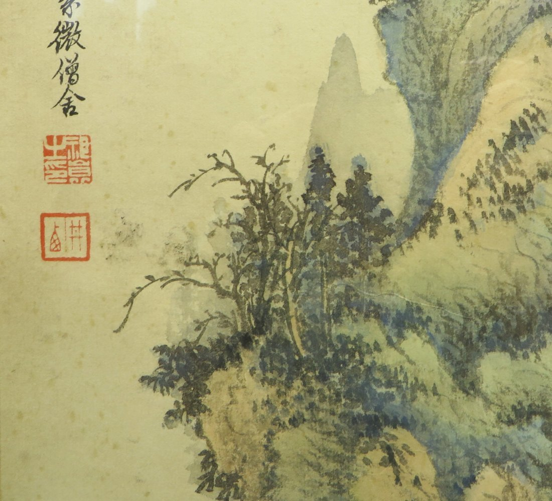 CHINESE WATER COLOR IN FRAME - 7