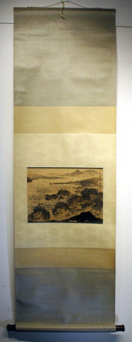 LANDSCAPE PAINTING ATTR FU BAOSHI (1904-1965) - 2