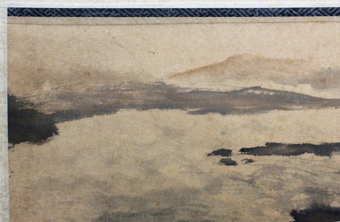 LANDSCAPE PAINTING ATTR FU BAOSHI (1904-1965) - 4