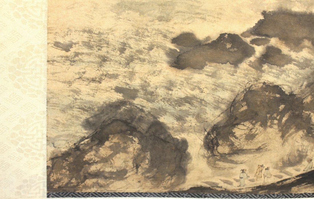 LANDSCAPE PAINTING ATTR FU BAOSHI (1904-1965) - 5