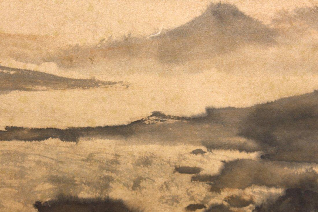 LANDSCAPE PAINTING ATTR FU BAOSHI (1904-1965) - 7