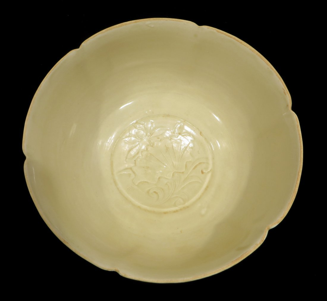 LARGE CHINESE DING WARE BOWL