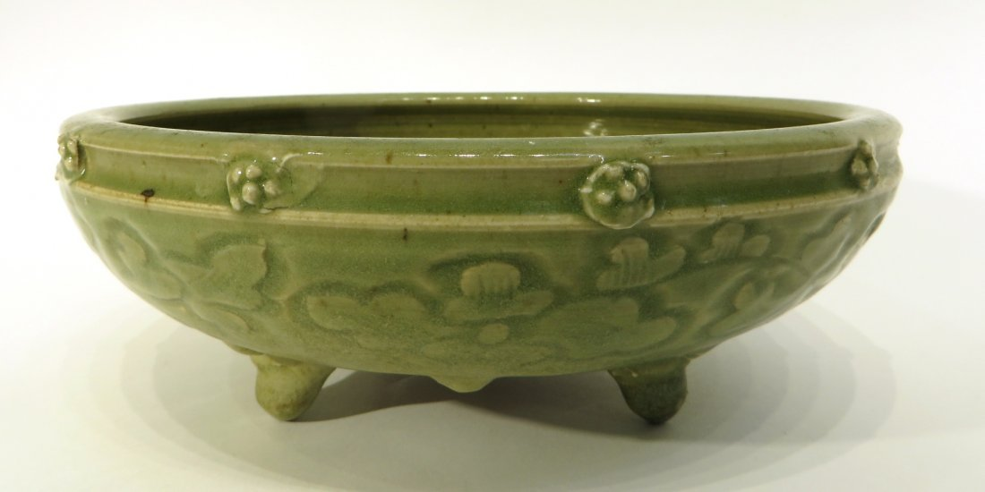 CHINESE SONG DYNASTY STYLE CELADON CENSER