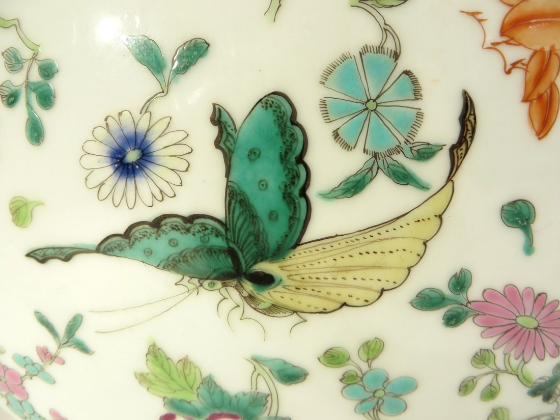 CHINESE QIAN LONG BUTTERFLY MOON FLASK - 6