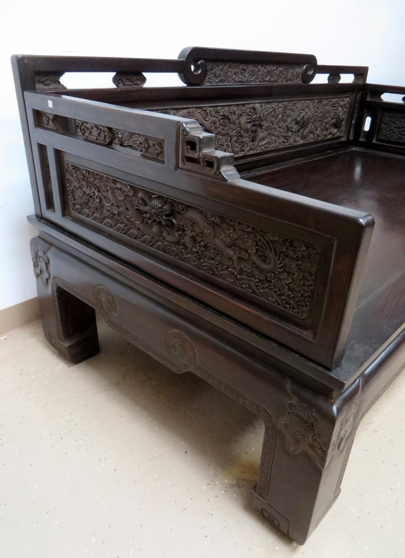 CHINESE ZITAN BED - 3