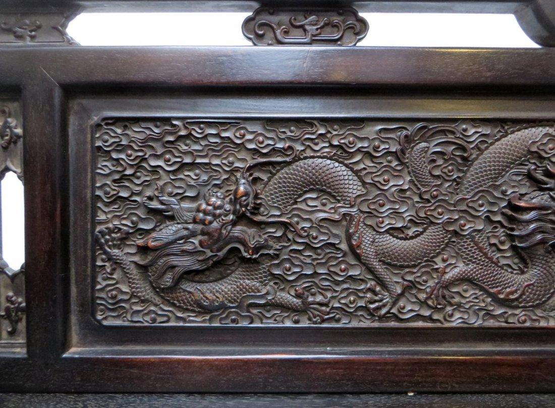 CHINESE ZITAN BED - 6