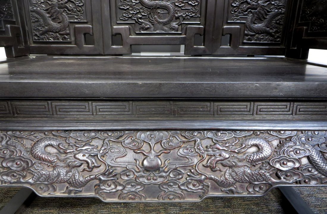 CHINESE ZITAN THRONE - 3