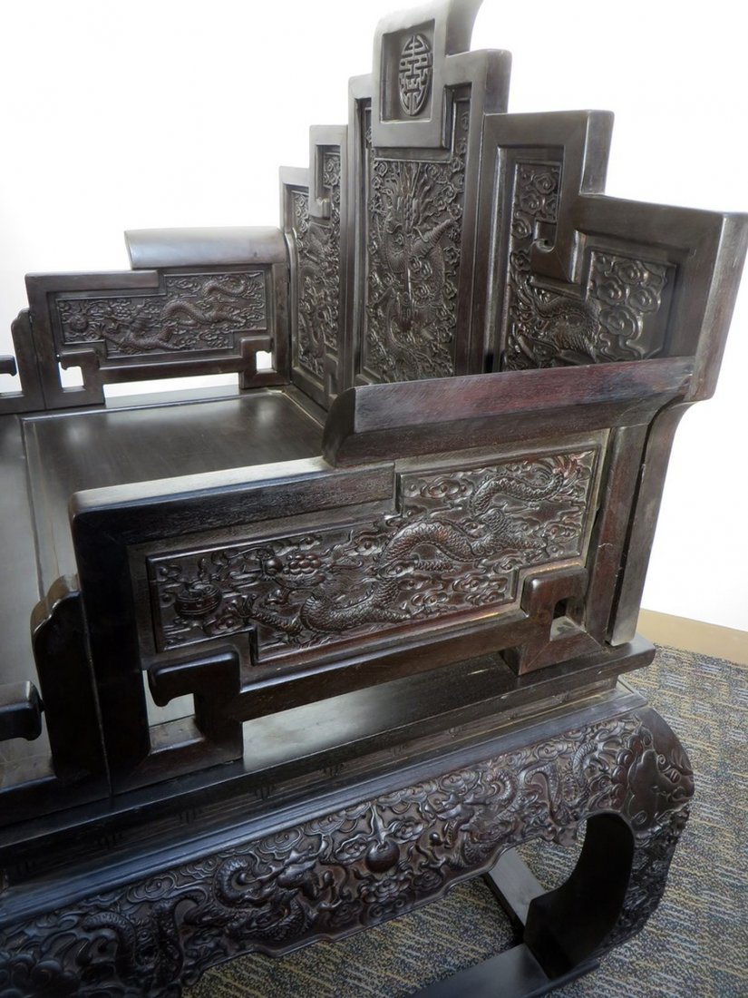 CHINESE ZITAN THRONE - 6