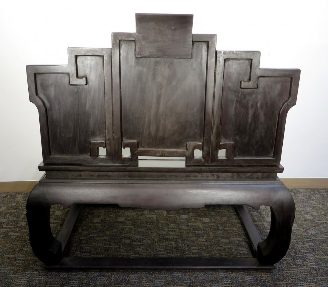 CHINESE ZITAN THRONE - 8