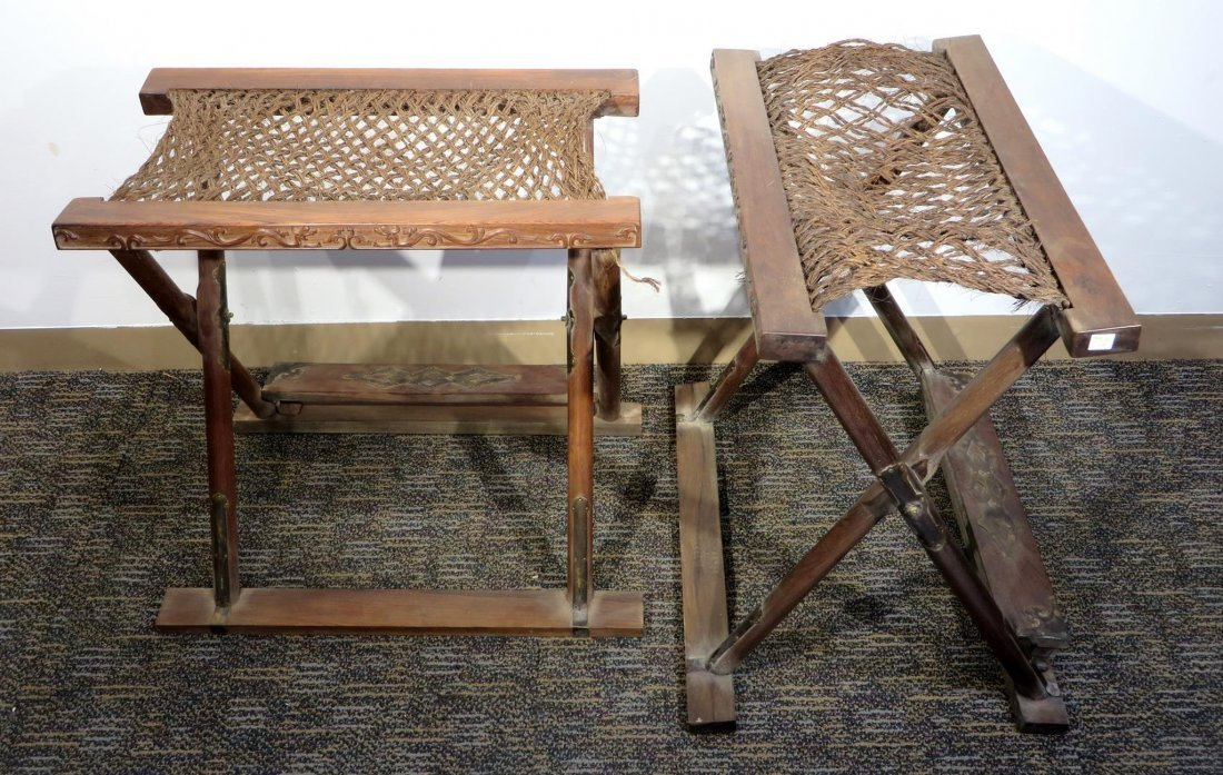 CHINESE HUANGHUALI FOLDING CHAIR - 3