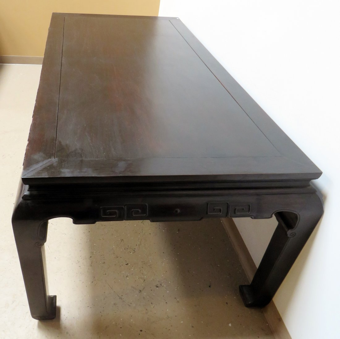 CHINESE ZITAN PAINTING TABLE - 10