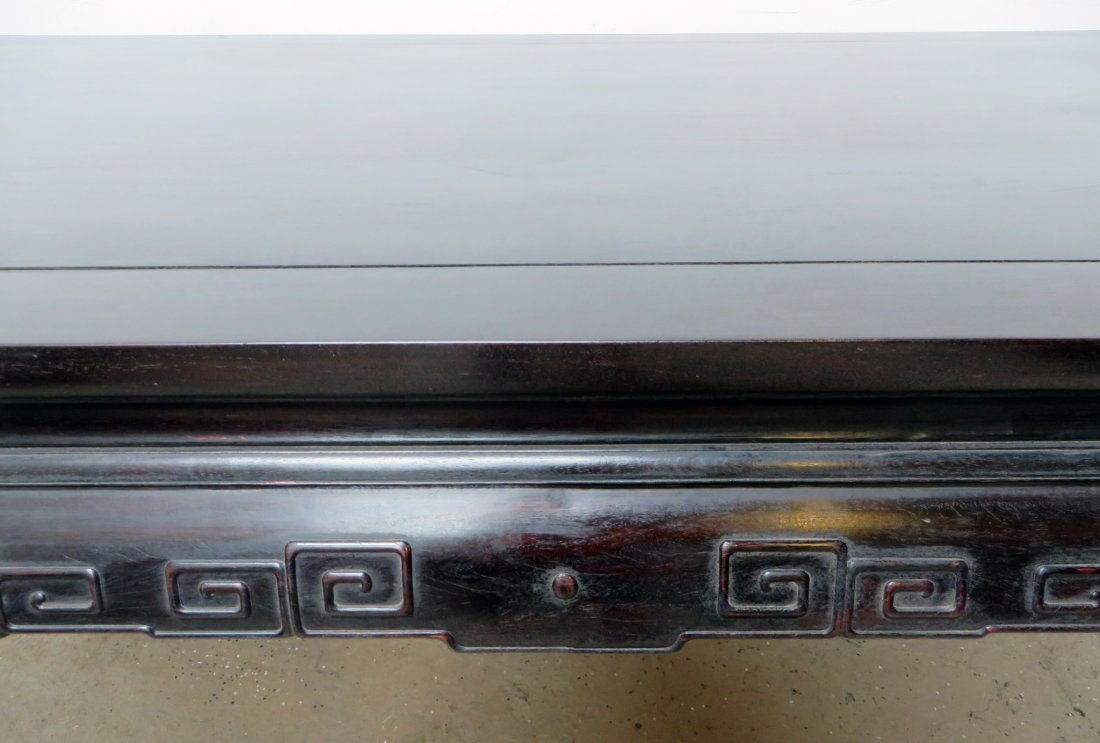 CHINESE ZITAN PAINTING TABLE - 8