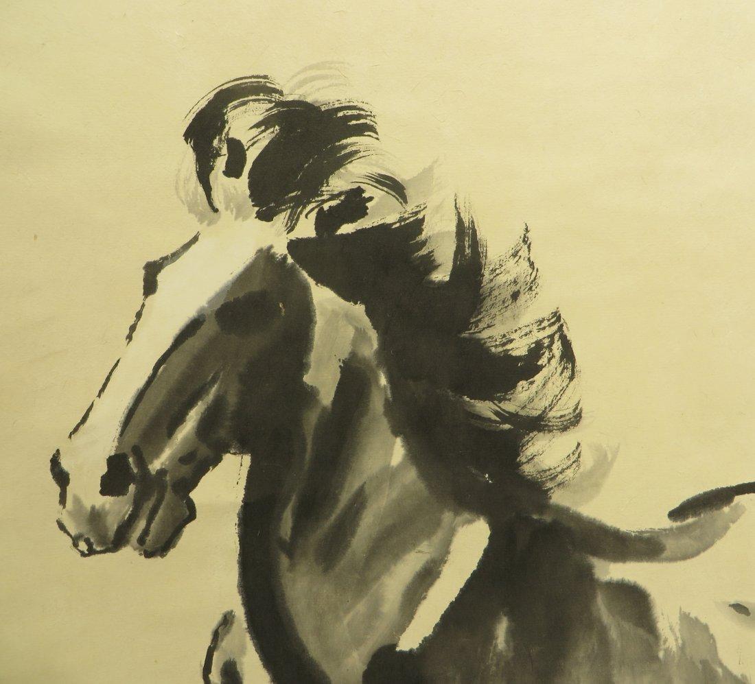 CHINESE XU BEIHONG (1895-1953) HORSE PAINTING - 3
