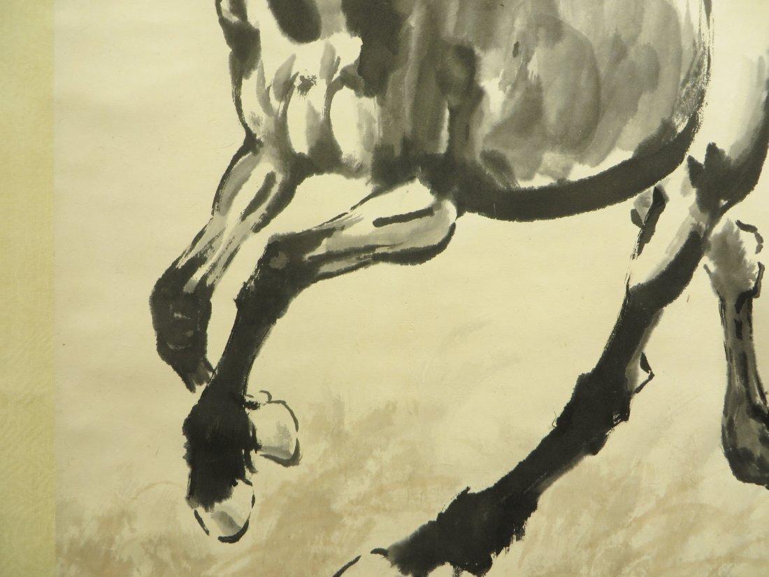 CHINESE XU BEIHONG (1895-1953) HORSE PAINTING - 4