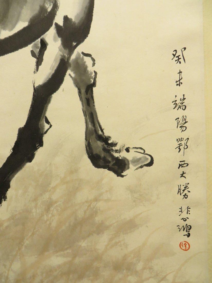 CHINESE XU BEIHONG (1895-1953) HORSE PAINTING - 5