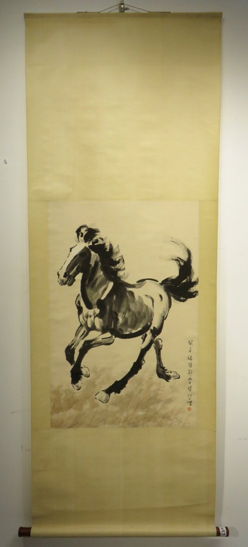 CHINESE XU BEIHONG (1895-1953) HORSE PAINTING - 6