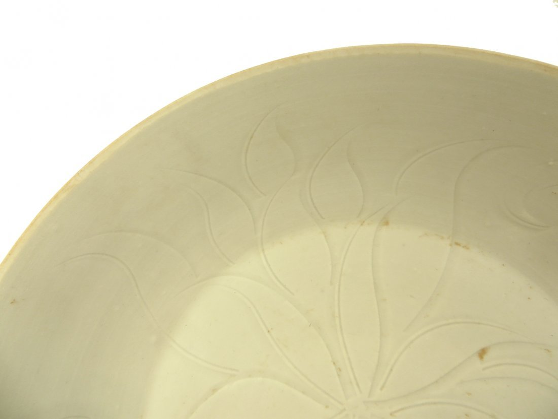 CHINESE SONG DYNASTY DING WARE BOWL - 4