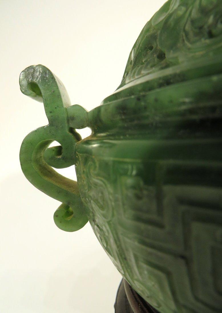 GREEN JADE CENSER - 4