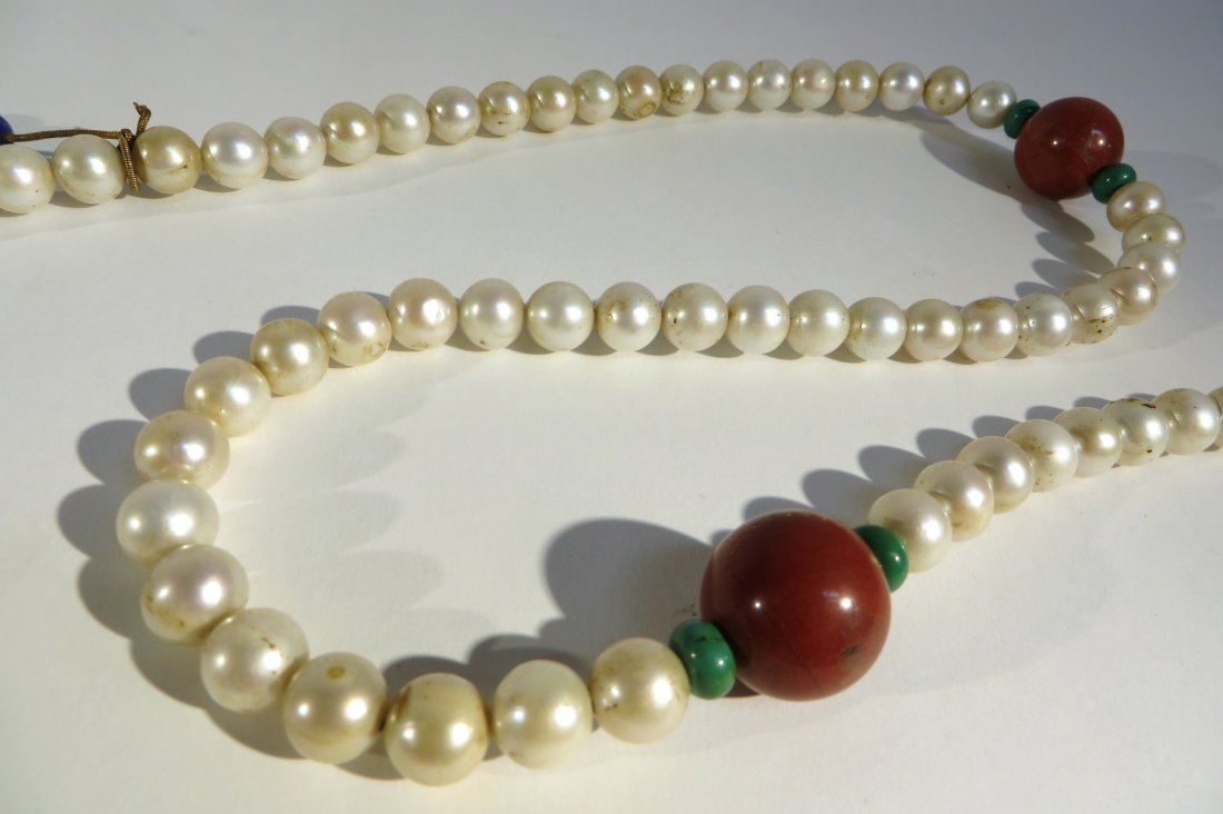 CHINESE PEARL COURT CHAO ZHU NECKLACE - 3