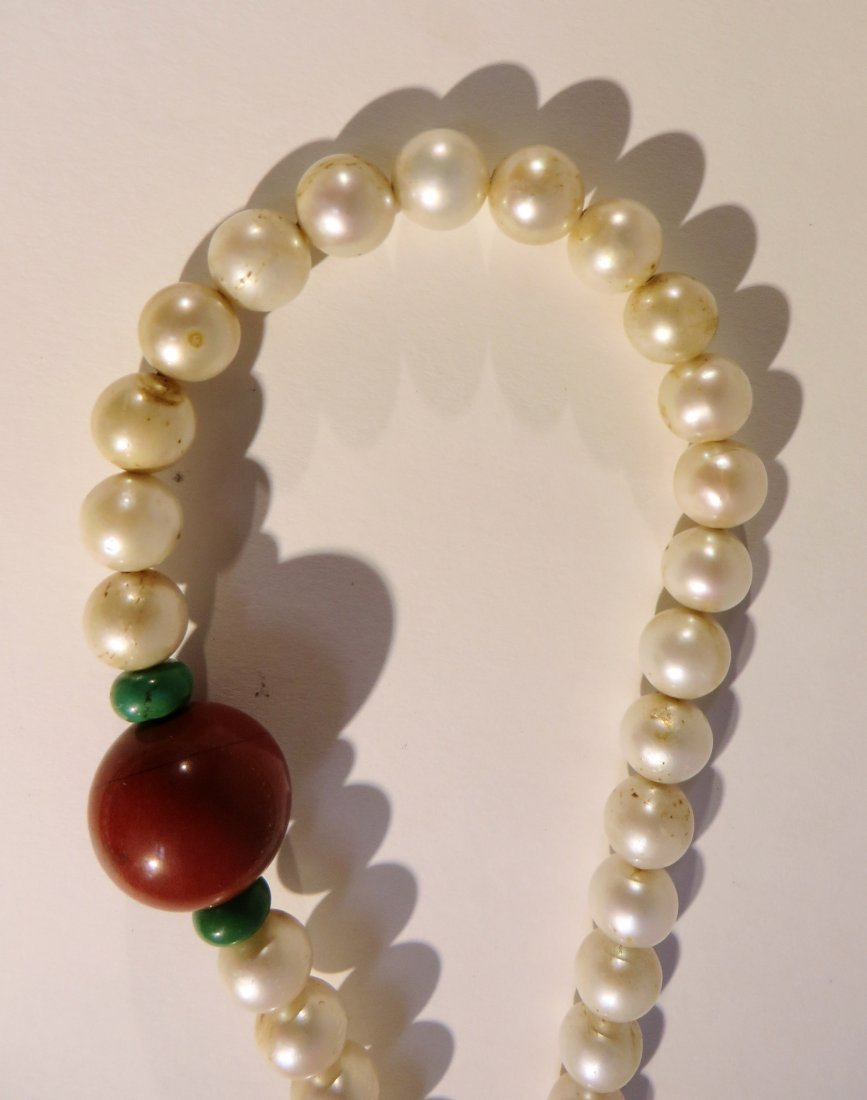 CHINESE PEARL COURT CHAO ZHU NECKLACE - 8