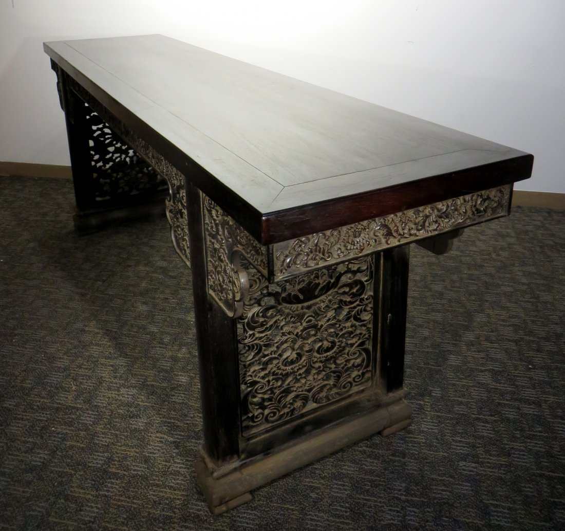 LARGE ZITAN PAINTING TABLE - 4
