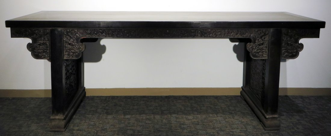 LARGE ZITAN PAINTING TABLE - 8