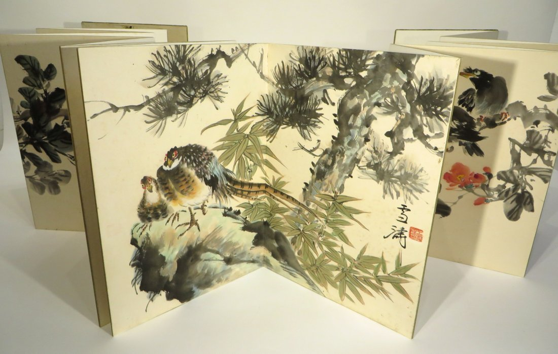 PAINTING BOOK ATTR WANG XUETAO (1903-1984)