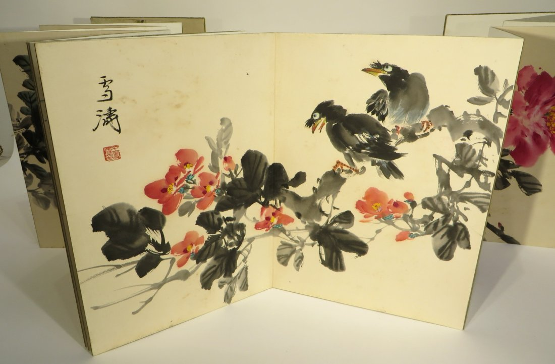 PAINTING BOOK ATTR WANG XUETAO (1903-1984) - 3