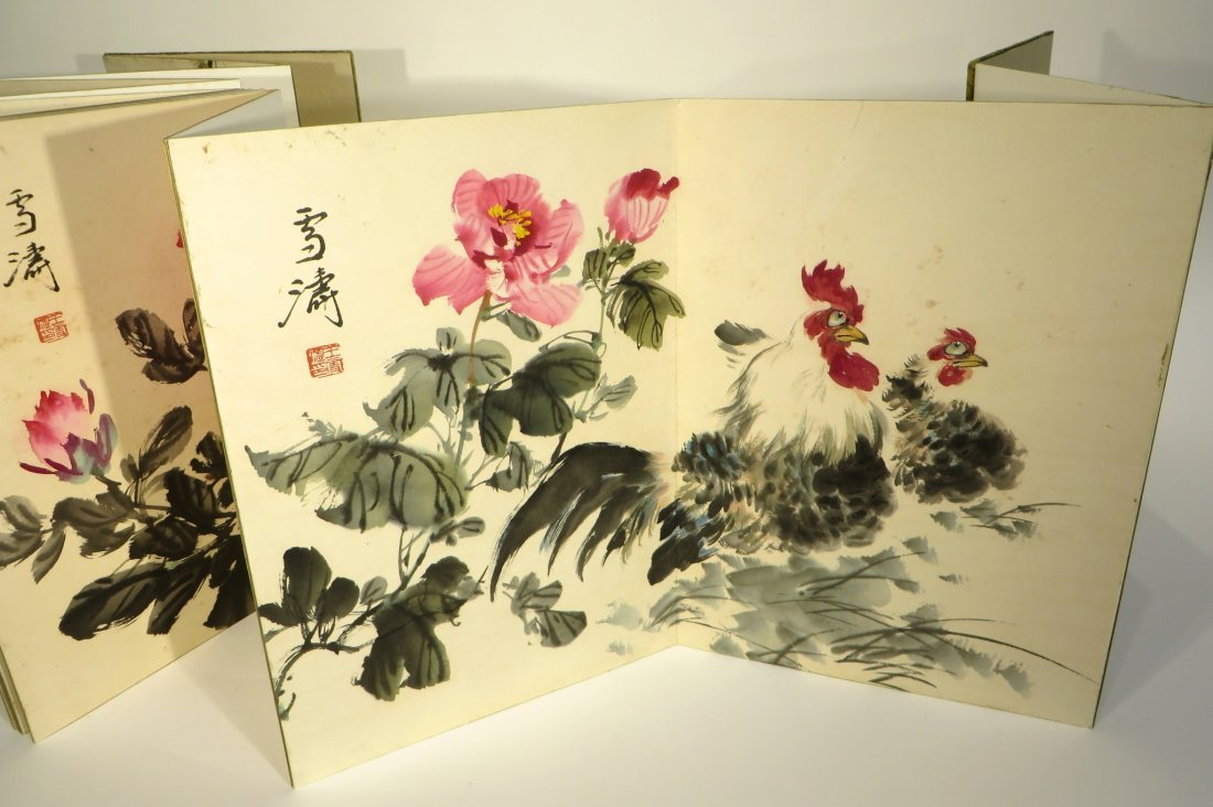 PAINTING BOOK ATTR WANG XUETAO (1903-1984) - 4