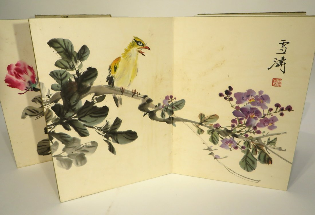 PAINTING BOOK ATTR WANG XUETAO (1903-1984) - 5