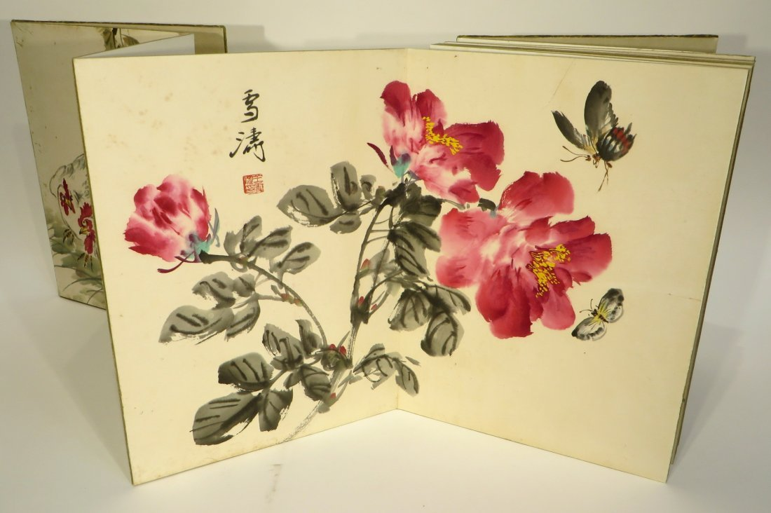 PAINTING BOOK ATTR WANG XUETAO (1903-1984) - 6