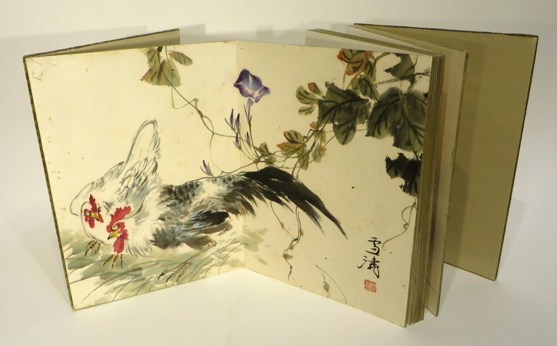 PAINTING BOOK ATTR WANG XUETAO (1903-1984) - 7