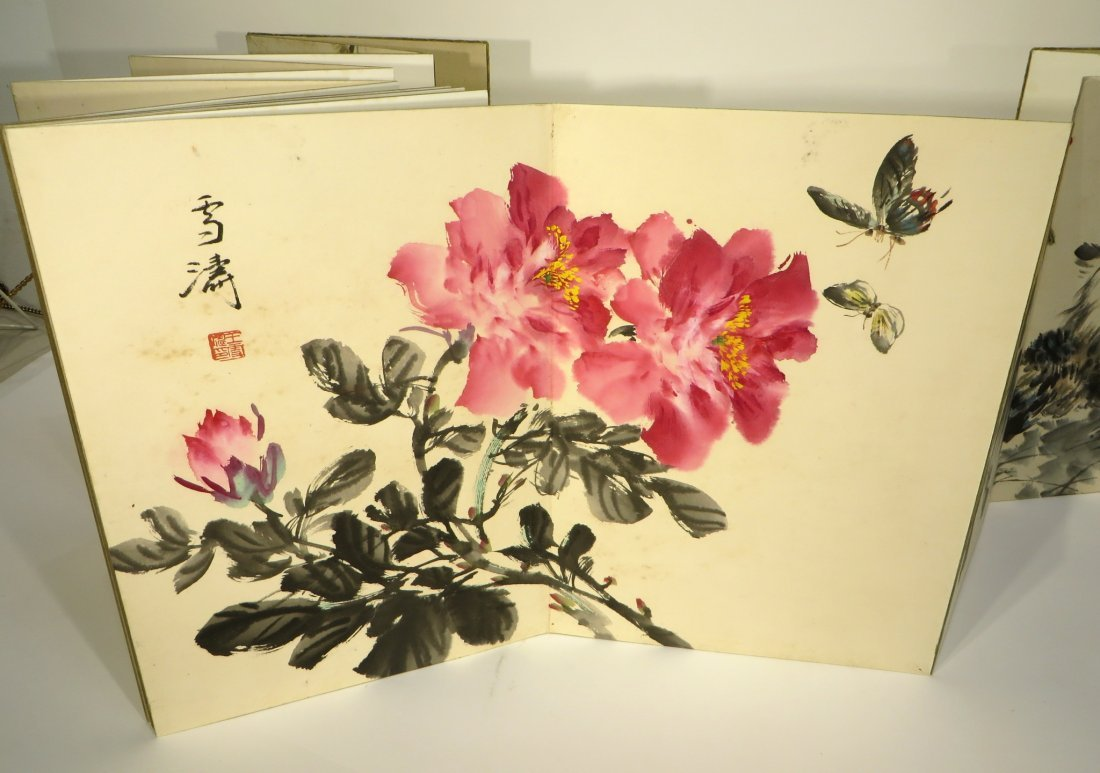 PAINTING BOOK ATTR WANG XUETAO (1903-1984) - 9