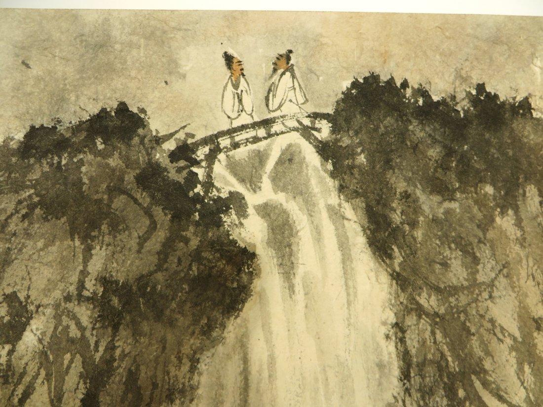 CHINESE PAINTING BOOK ATTR FU BAOSHI (1904-1965) - 4