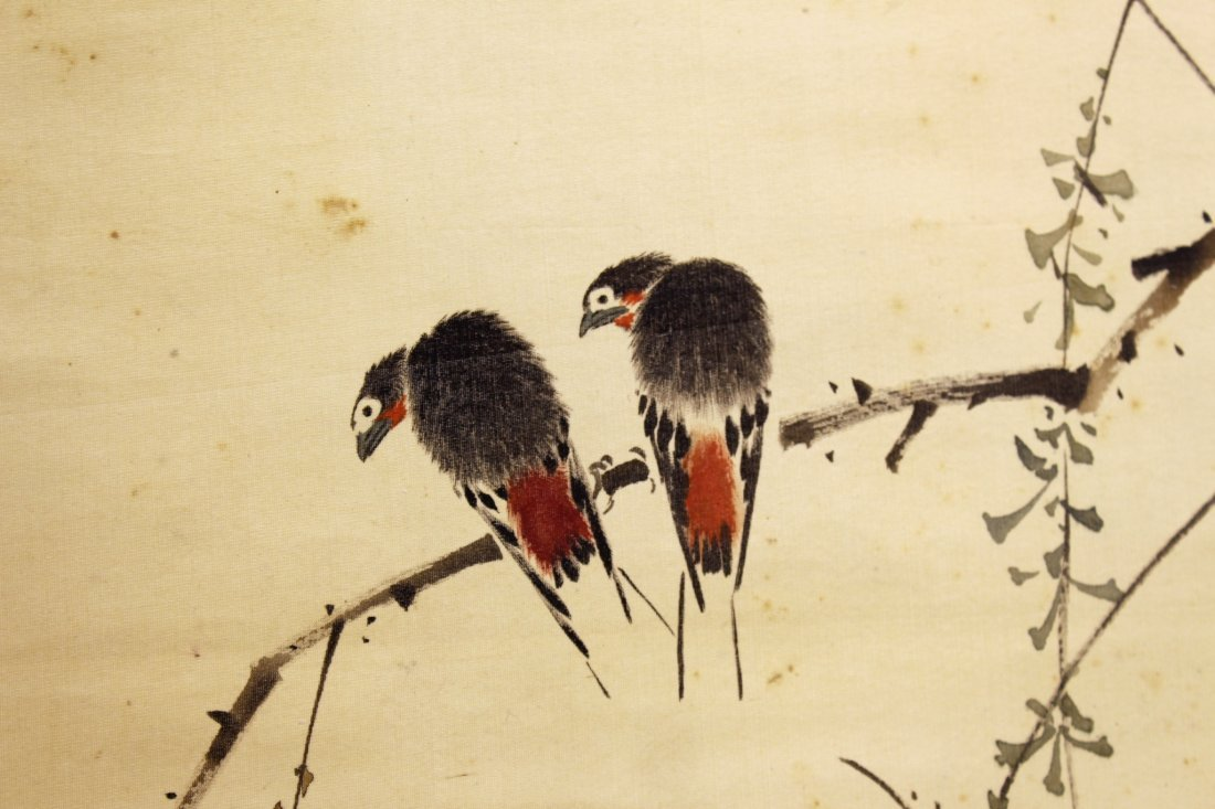 CHINESE WATER COLOR ON PAPER - 7