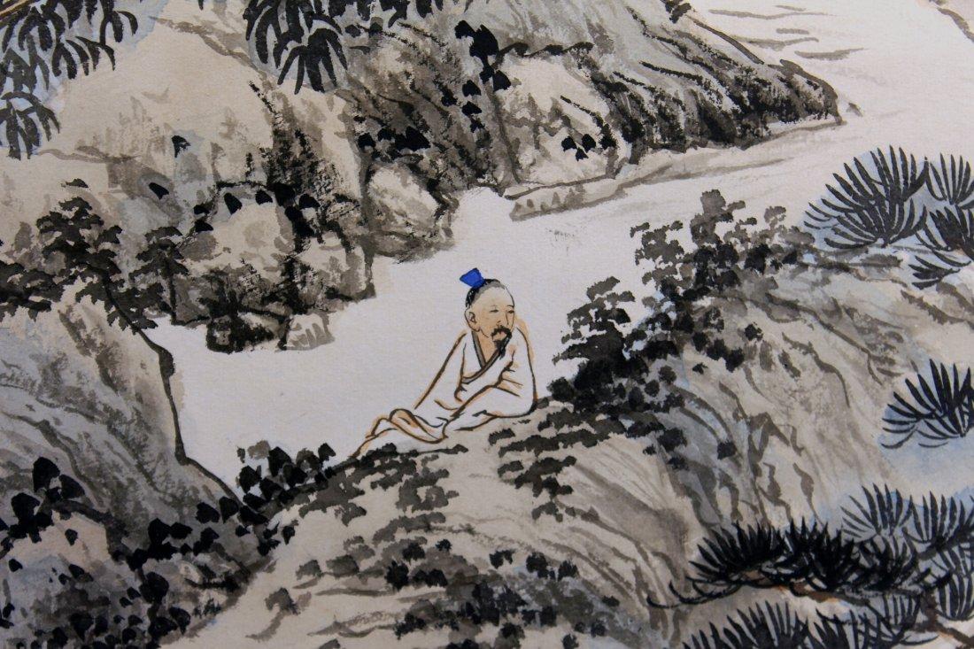 CHINESE PAINTING SIGNED LIUZI JIU - 4