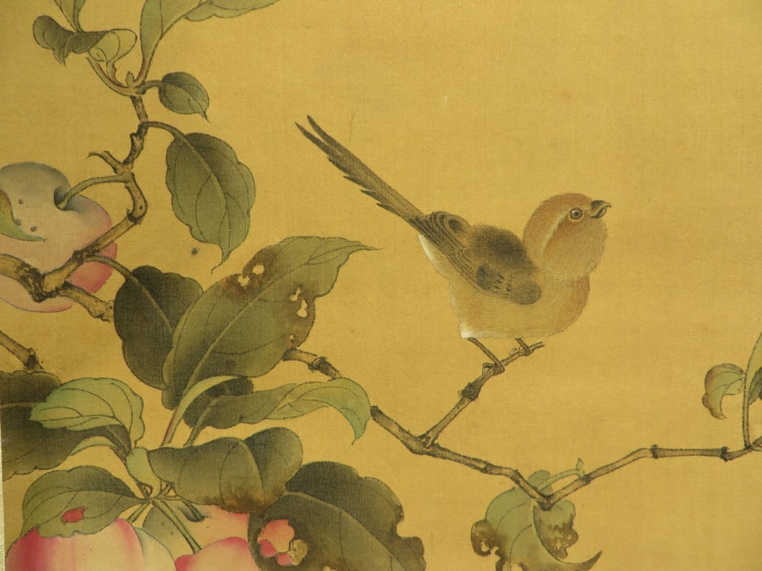CHINESE SONG DYNASTY SCROLL OF BIRDS - 5