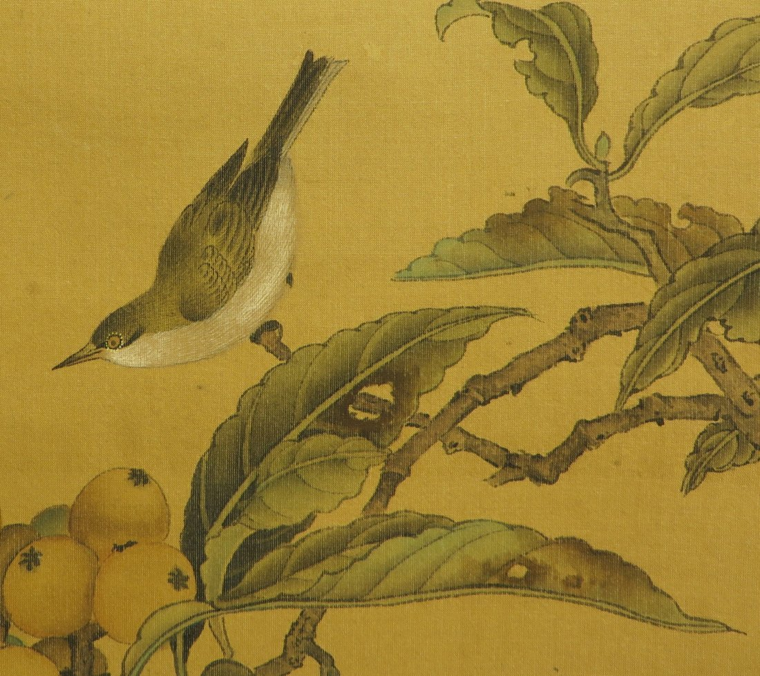 CHINESE SONG DYNASTY SCROLL OF BIRDS - 9