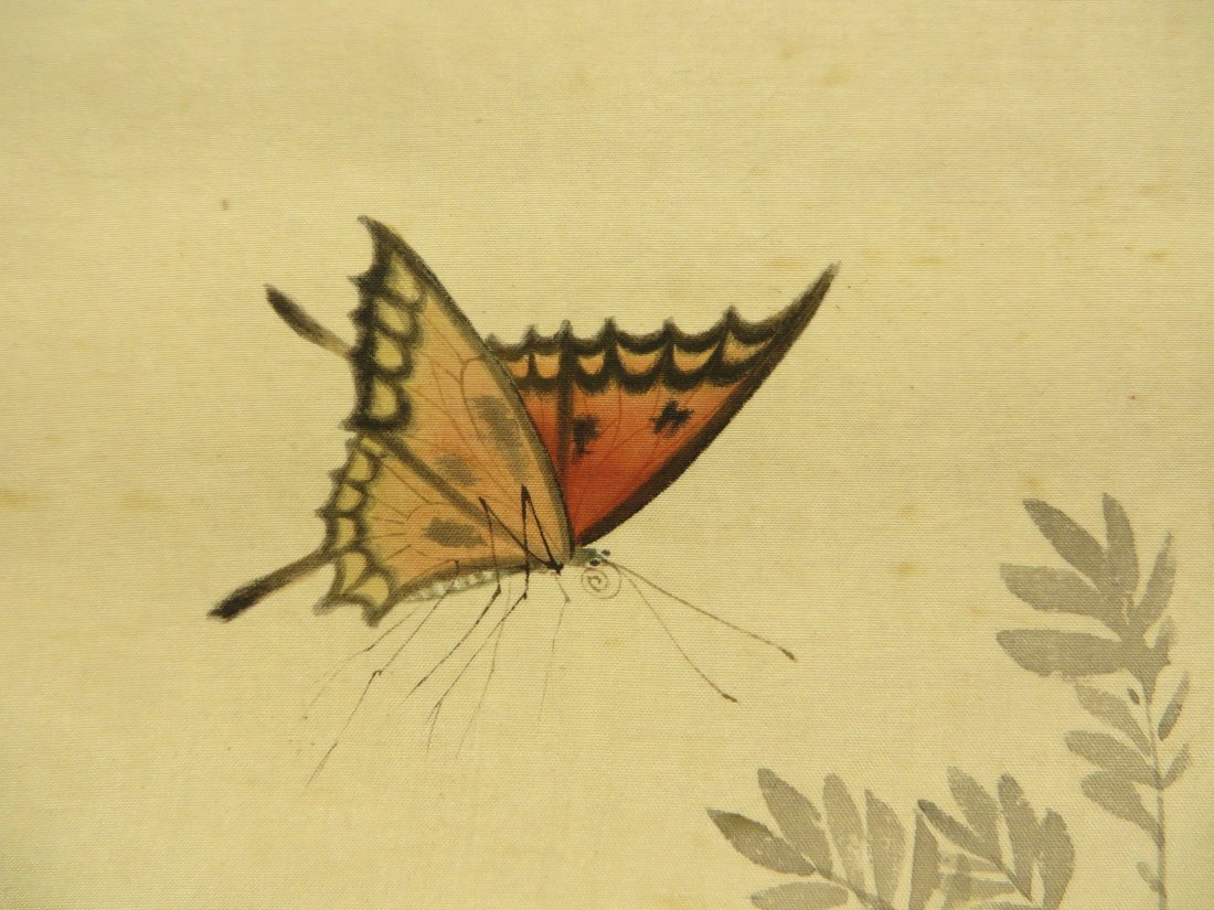 PAINTING OF INSECTS ZHIZHEN YU (1915-1995) - 2