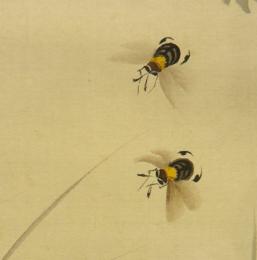 PAINTING OF INSECTS ZHIZHEN YU (1915-1995) - 5