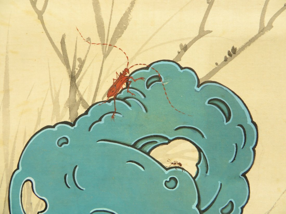 PAINTING OF INSECTS ZHIZHEN YU (1915-1995) - 6